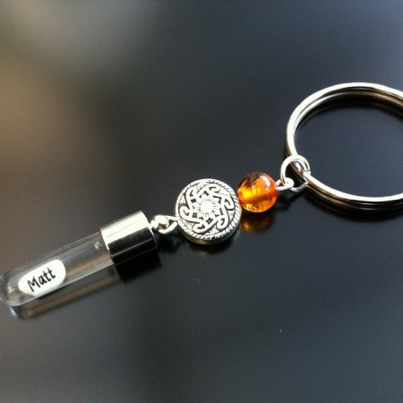 Rice Charm Key Rings